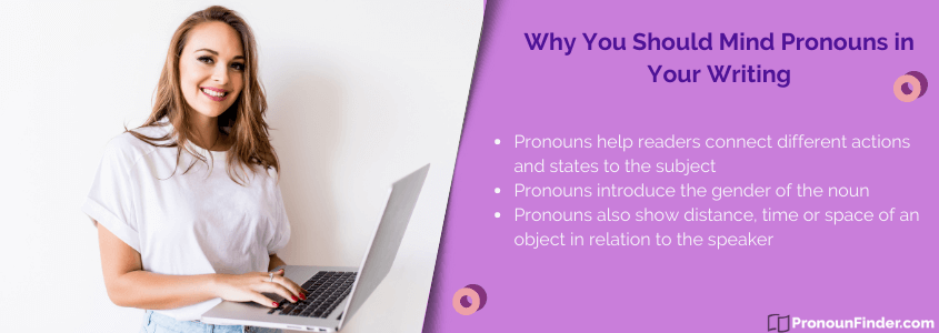 why identifying pronoun is important